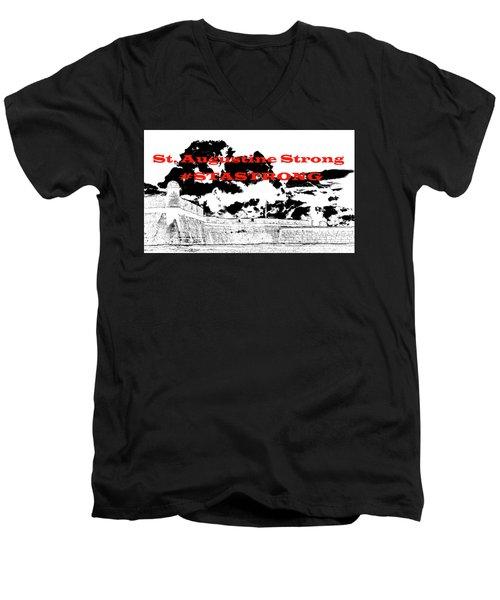 #stastrong Men's V-Neck T-Shirt