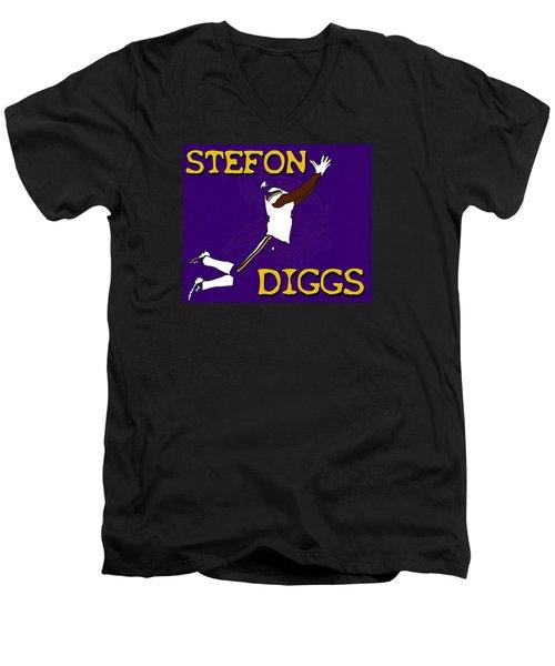 Stefon Diggs Men's V-Neck T-Shirt