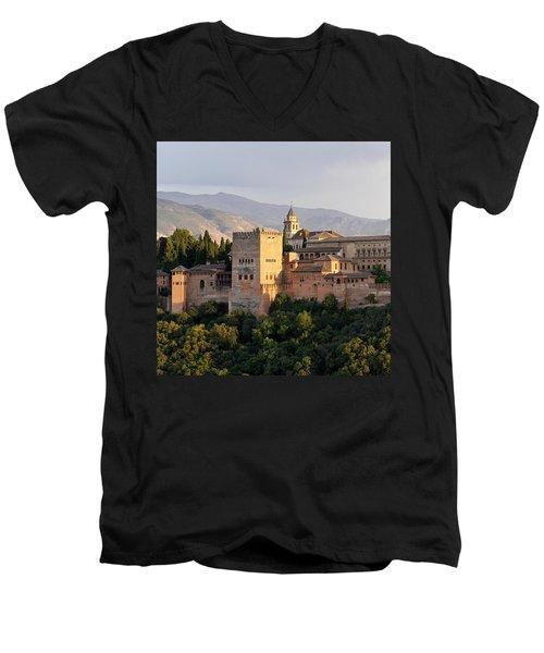The Alhambra Men's V-Neck T-Shirt