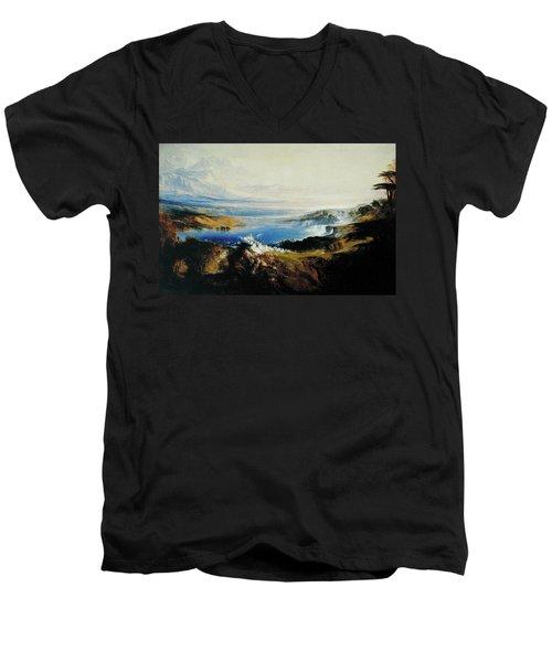 The Plains Of Heaven Men's V-Neck T-Shirt