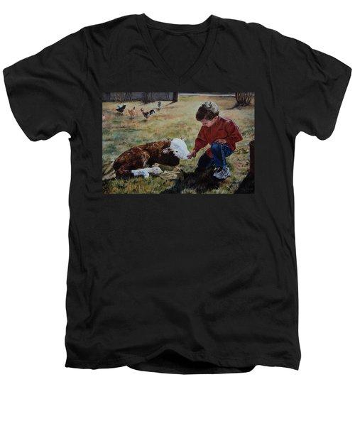 20 Minute Orphan Men's V-Neck T-Shirt