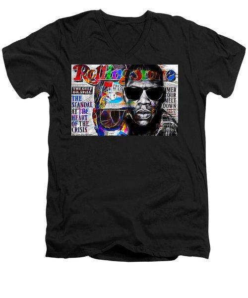 Jay Z Collection Men's V-Neck T-Shirt