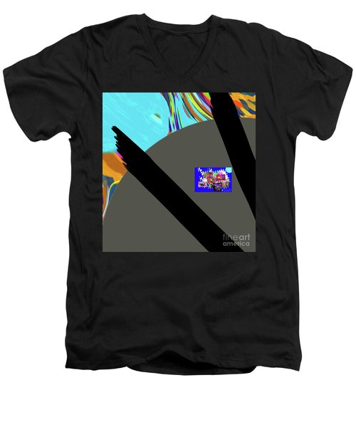 3-7-3057d Men's V-Neck T-Shirt