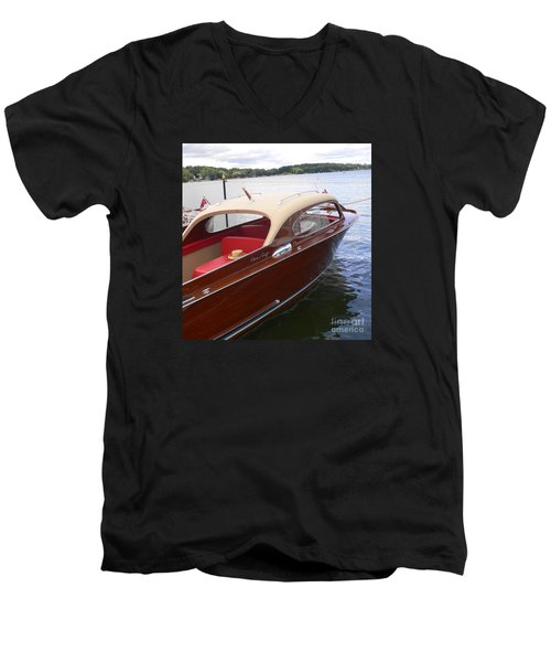 Chris Craft Men's V-Neck T-Shirt