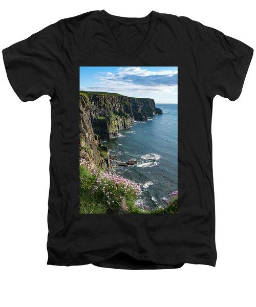 Cliffs Of Moher, Clare, Ireland Men's V-Neck T-Shirt