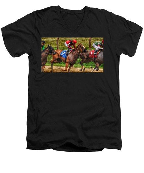 3 Gaining Men's V-Neck T-Shirt