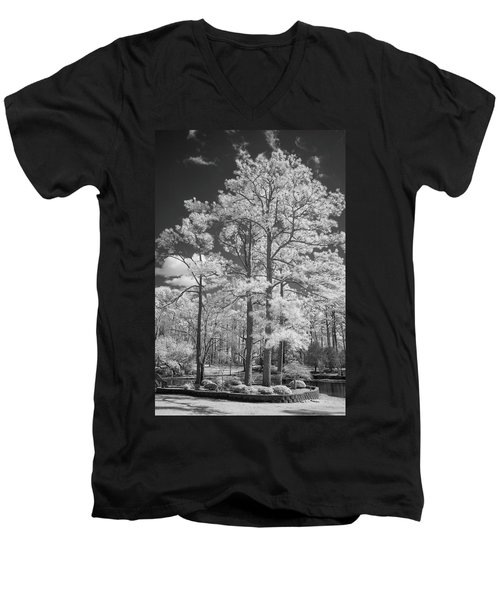 Hugh Macrae Park Men's V-Neck T-Shirt