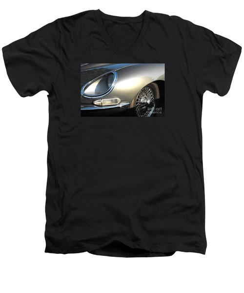 Jaguar E-type Men's V-Neck T-Shirt