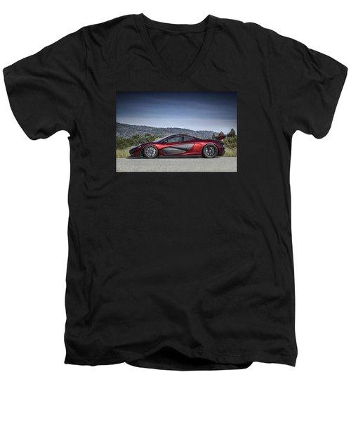Mclaren P1 Men's V-Neck T-Shirt