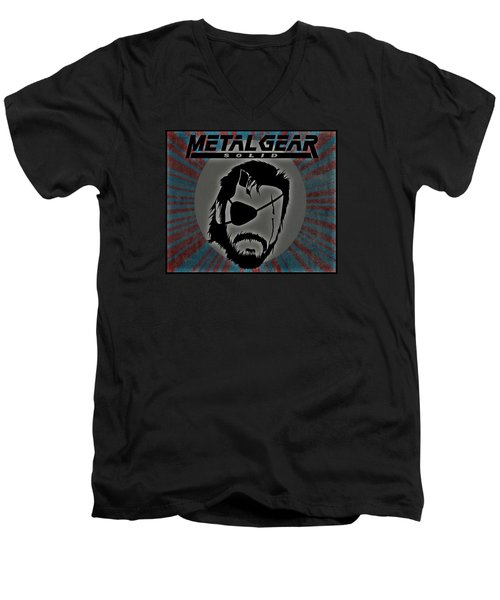 Metal Gear Solid Men's V-Neck T-Shirt by Kyle West