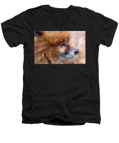 Tribute To Jojo Rip Buddy Men's V-Neck T-Shirt