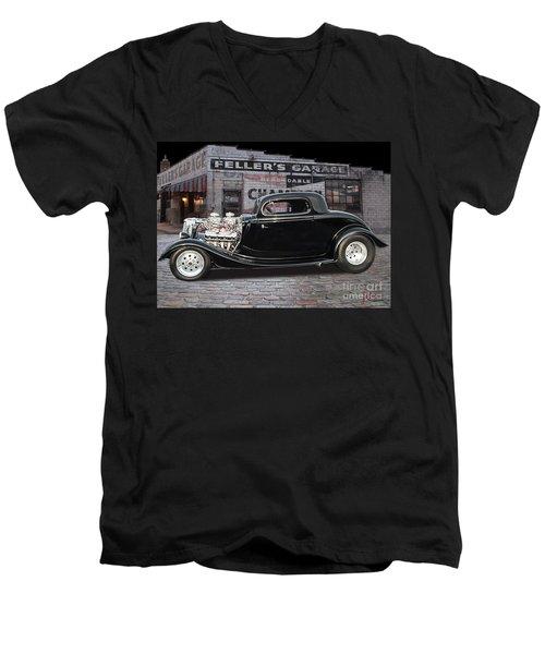 34 Ford Men's V-Neck T-Shirt
