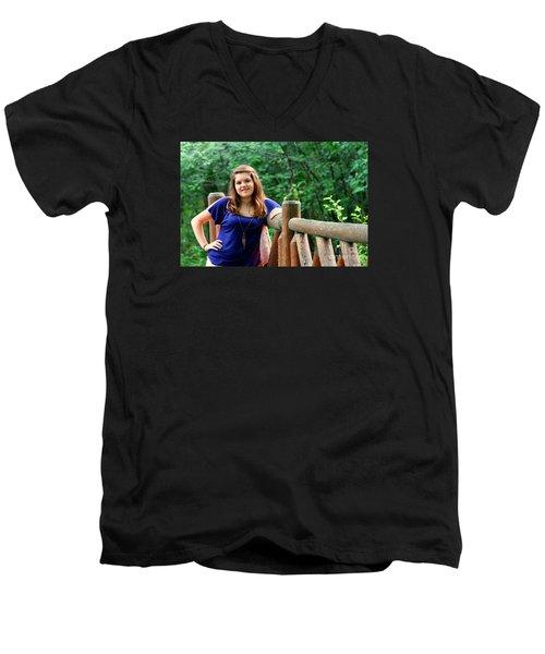 3560v2 Men's V-Neck T-Shirt by Mark J Seefeldt