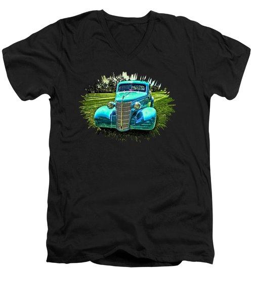 38 Chevy Coupe Men's V-Neck T-Shirt