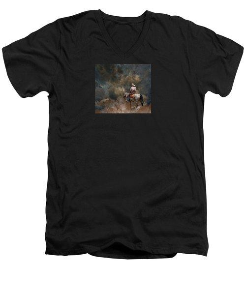 3982 Men's V-Neck T-Shirt by Peter Holme III