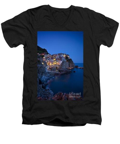 Cinque Terre Men's V-Neck T-Shirt