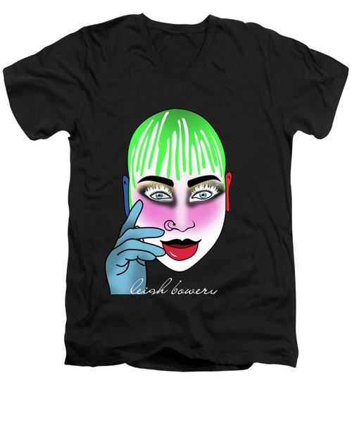 Leigh Bowery Men's V-Neck T-Shirt by Mark Ashkenazi