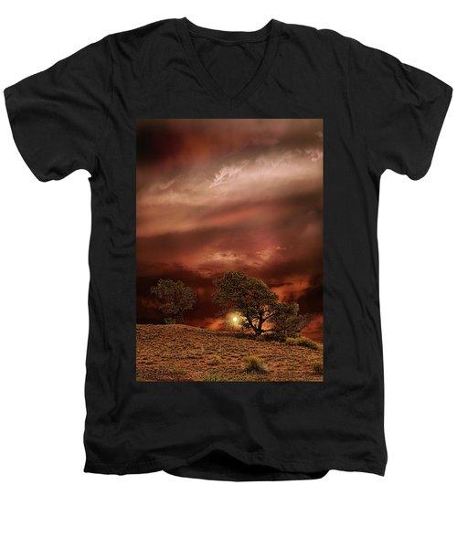 4578 Men's V-Neck T-Shirt