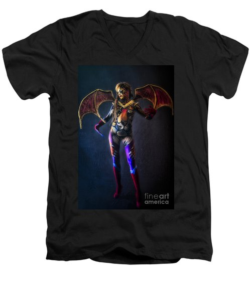 Bodypainting Men's V-Neck T-Shirt