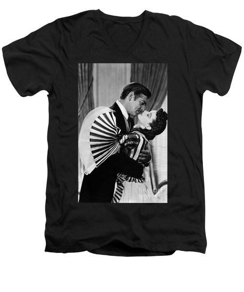 Gone With The Wind, 1939 Men's V-Neck T-Shirt by Granger