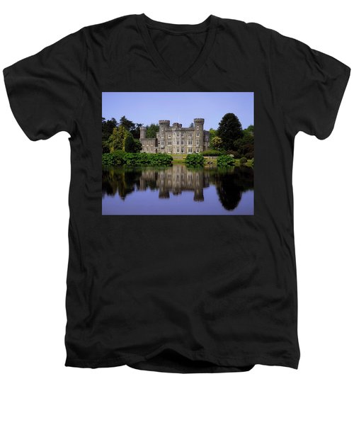 Johnstown Castle, Co Wexford, Ireland Men's V-Neck T-Shirt by The Irish Image Collection