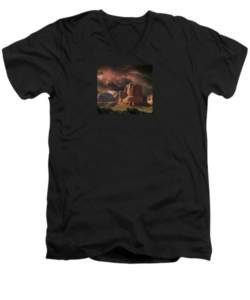 4150 Men's V-Neck T-Shirt by Peter Holme III
