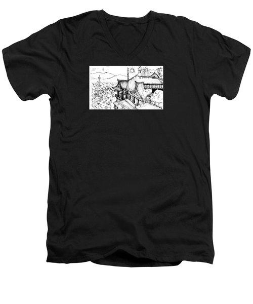 5.24.japan-5-detail-c Men's V-Neck T-Shirt