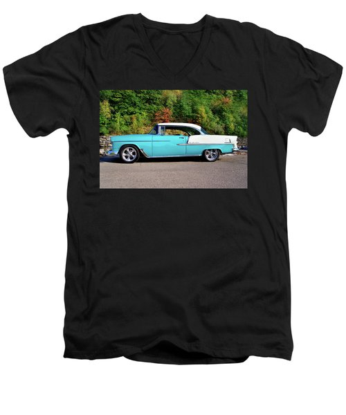 55 Belair Men's V-Neck T-Shirt