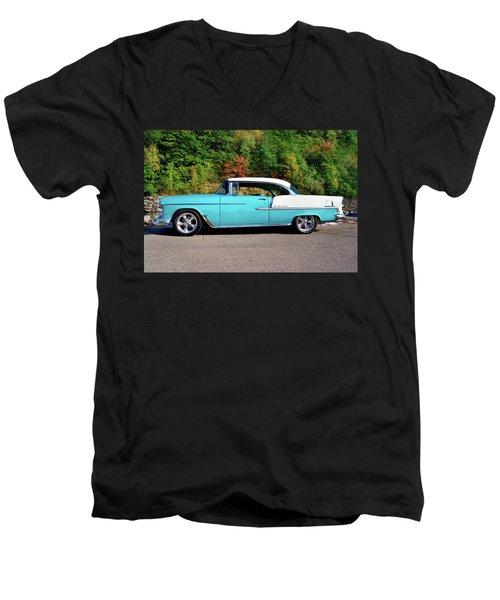 55 Belair Men's V-Neck T-Shirt