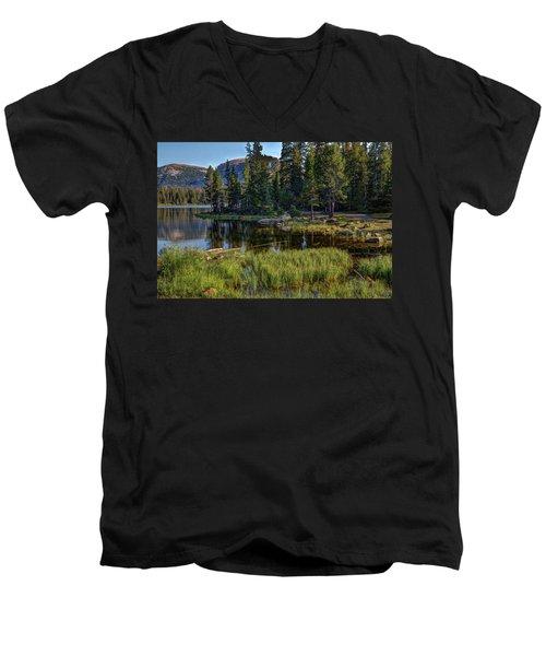 Uinta Mountains, Utah Men's V-Neck T-Shirt by Utah Images