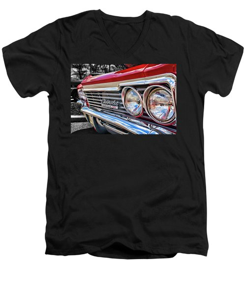 '66 Chevrolet Impala Ss Men's V-Neck T-Shirt