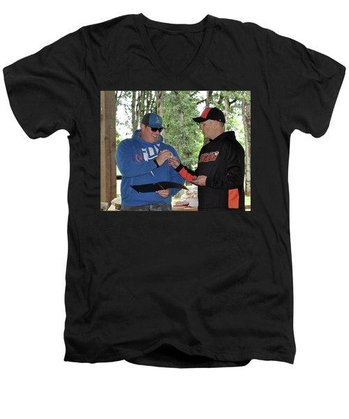 6769 Men's V-Neck T-Shirt