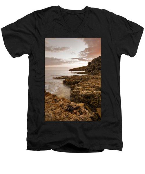 Seacombe Bay Men's V-Neck T-Shirt
