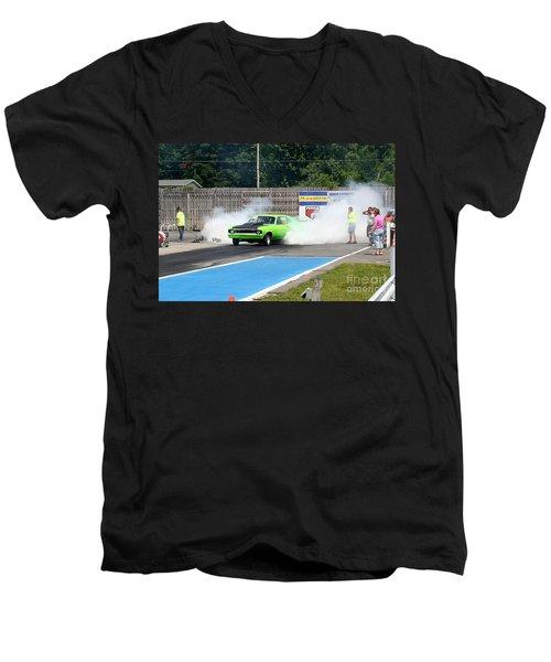 8838 06-15-2015 Esta Safety Park Men's V-Neck T-Shirt