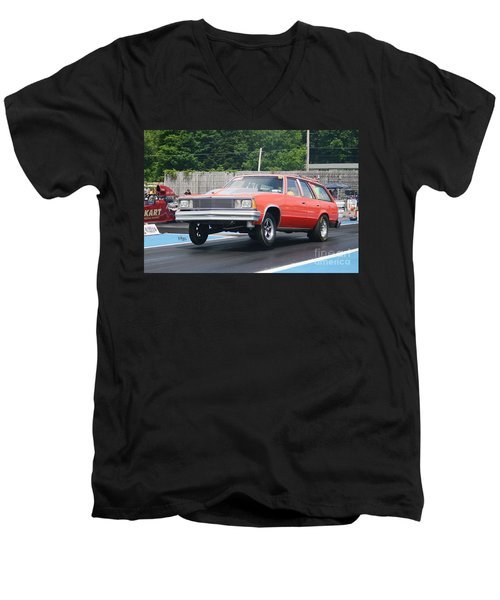 8877 06-15-2015 Esta Safety Park Men's V-Neck T-Shirt