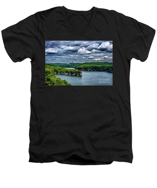Long Point Summersville Lake Men's V-Neck T-Shirt
