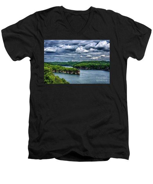 Long Point Summersville Lake Men's V-Neck T-Shirt