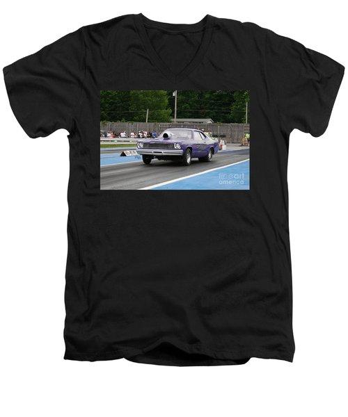 9134 06-15-2015 Esta Safety Park Men's V-Neck T-Shirt