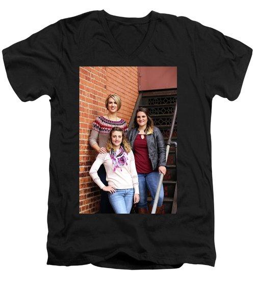 9g5a9405_e_pp Men's V-Neck T-Shirt by Sylvia Thornton