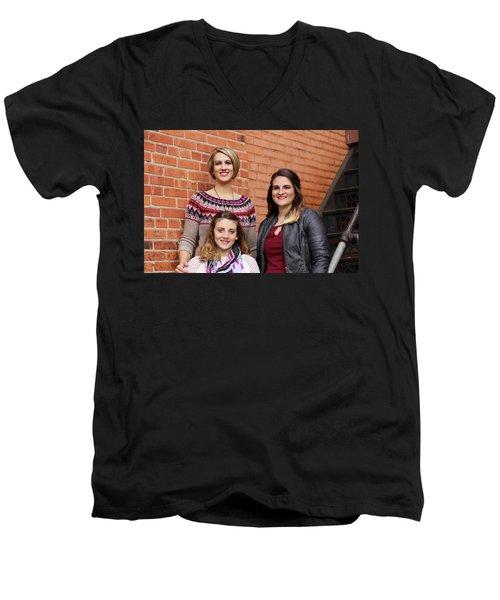 9g5a9409_e_pp Men's V-Neck T-Shirt by Sylvia Thornton