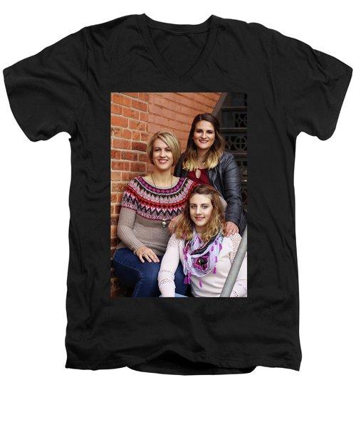 9g5a9416_e_pp Men's V-Neck T-Shirt by Sylvia Thornton