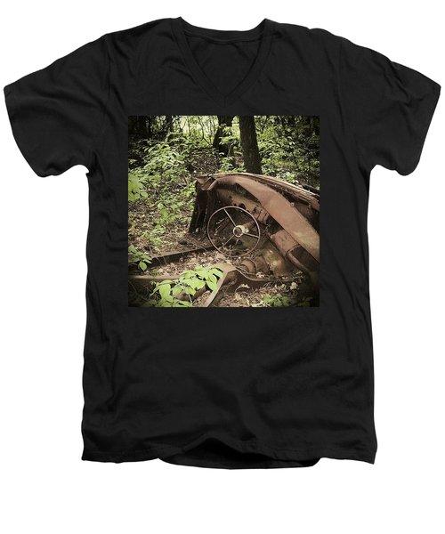 Abandoned 50s Classic.... Men's V-Neck T-Shirt
