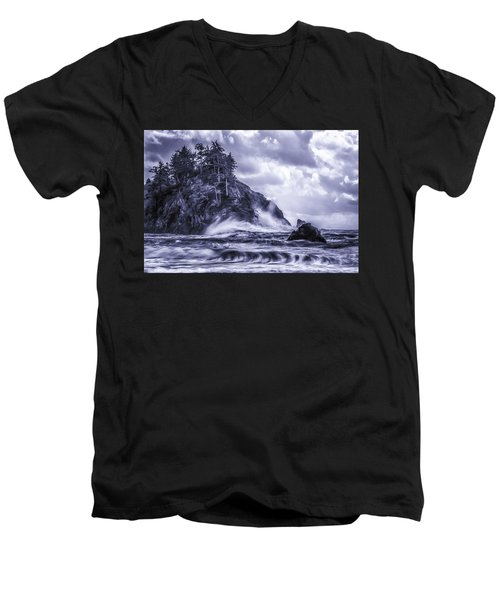 A Blustery Day Men's V-Neck T-Shirt