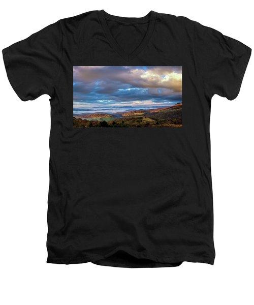 A Break In The Clouds Men's V-Neck T-Shirt