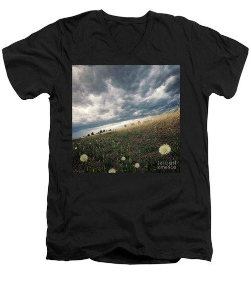 A Bug's View Men's V-Neck T-Shirt