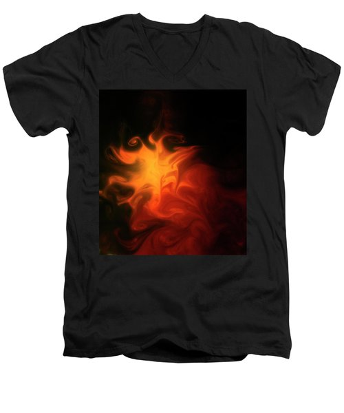A Burning Passion Men's V-Neck T-Shirt