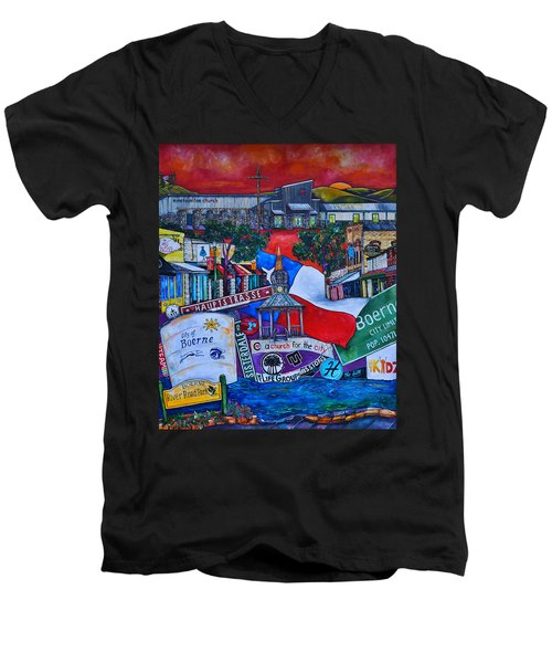 A Church For The City Men's V-Neck T-Shirt