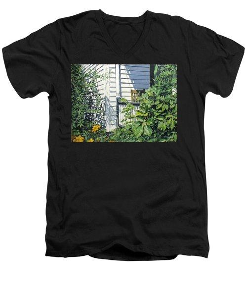 A Corner Of Summer Men's V-Neck T-Shirt