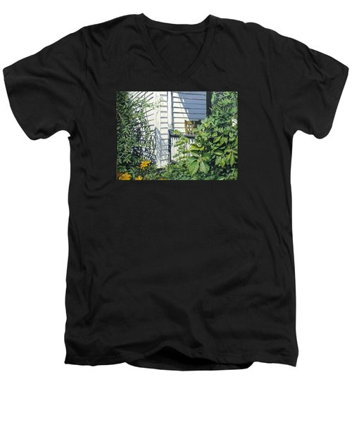 A Corner Of Summer Men's V-Neck T-Shirt