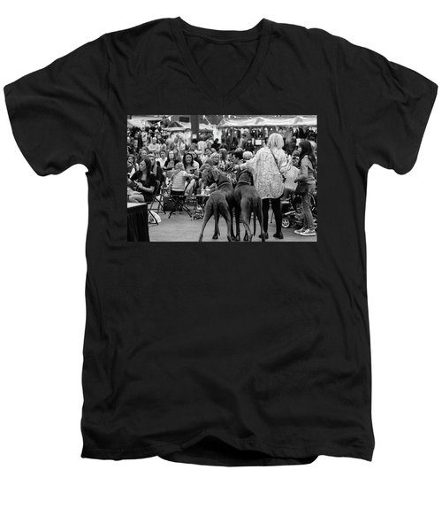 A Dogs Life Men's V-Neck T-Shirt